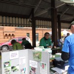 Riverine Volunteers Staffing our Display Table at Earth Day