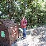 Aimee of the Chesapeake Bay Foundation helps clean our watershed